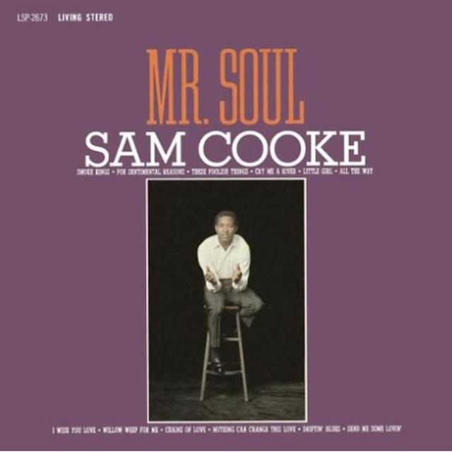 Sam Cooke MR SOUL Vinyl Record - Limited Edition, 180 Gram Pressing