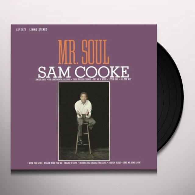 Sam Cooke MR SOUL Vinyl Record - Limited Edition, 180 Gram Pressing