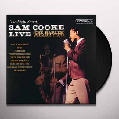 Sam Cooke ONE NIGHT STAND: LIVE AT HARLEM SQUARE Vinyl Record - Limited Edition