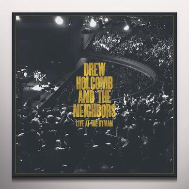 Drew Holcomb & Neighbors LIVE AT THE RYMAN Vinyl Record - Gold Vinyl