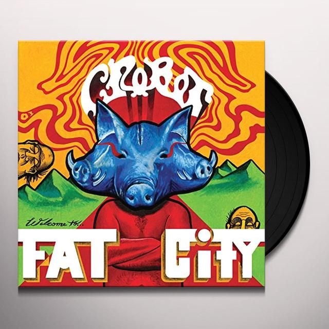 Crobot WELCOME TO FAT CITY Vinyl Record - Gatefold Sleeve