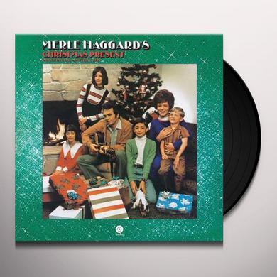 MERLE HAGGARD'S CHRISTMAS PRESENT Vinyl Record