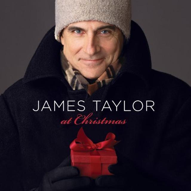 James Taylor AT CHRISTMAS Vinyl Record