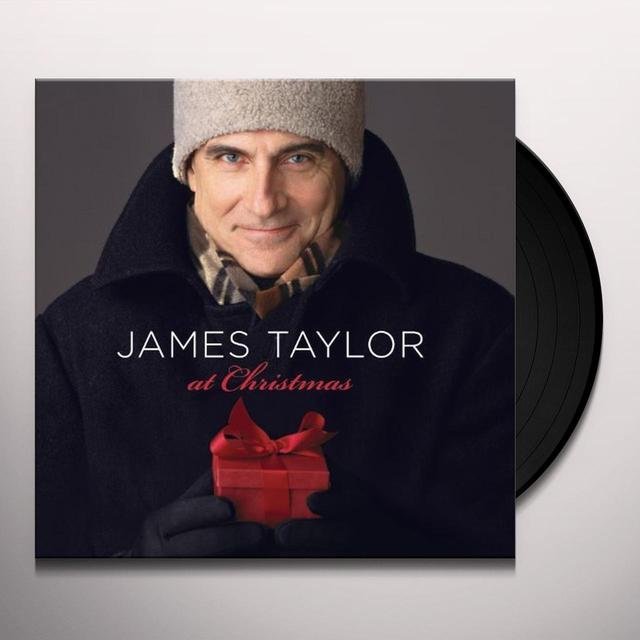 James Taylor AT CHRISTMAS Vinyl Record