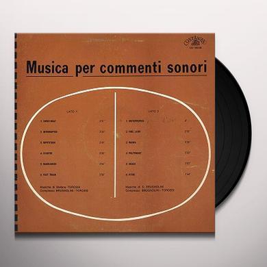 BRUGNOLINI / TOROSSI MUSICA PER COMMENTI SONORI Vinyl Record