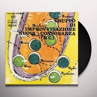 GRUPPO DI IMPROVVISAZIONE / VARIOUS GRUPPO DI IMPROVVISAZIONE NUOVA CONSONANZA Vinyl Record