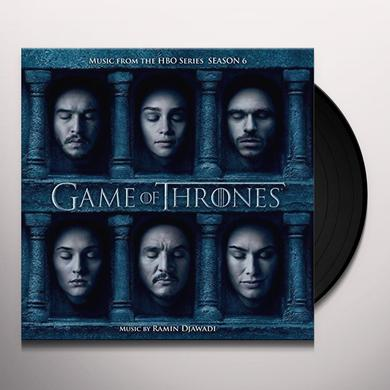 RAMIN DJAWADI GAME OF THRONES SEASON 6 - TV O.S.T. Vinyl Record - Gatefold Sleeve
