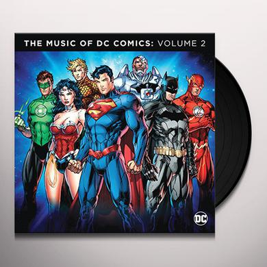 MUSIC OF DC COMICS 2 / VARIOUS Vinyl Record