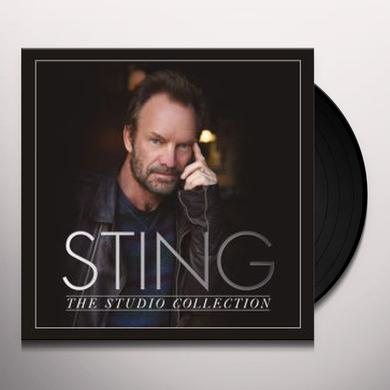 STING: THE STUDIO COLLECTION (BOX) Vinyl Record