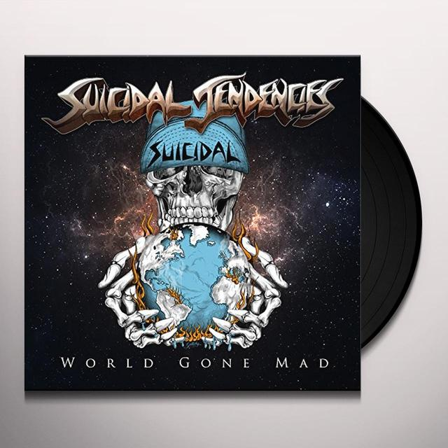Suicidal Tendencies WORLD GONE MAD Vinyl Record