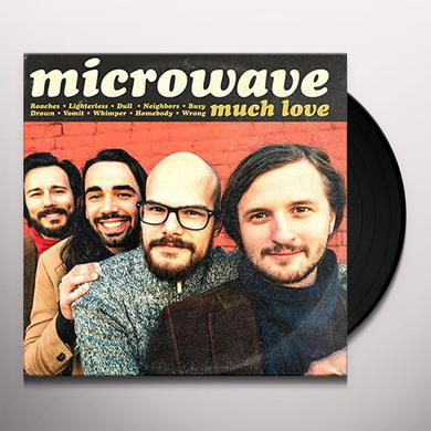 Microwave MUCH LOVE Vinyl Record