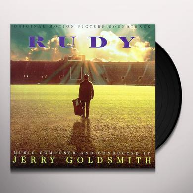 Jerry Goldsmith RUDY Vinyl Record