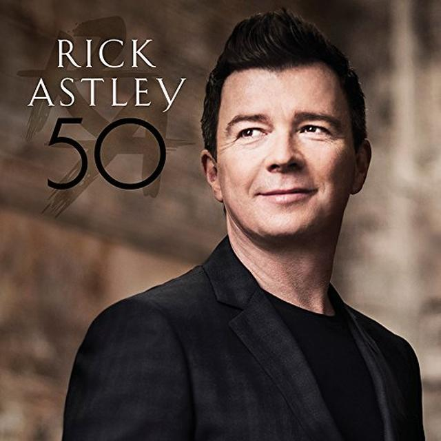 Rick Astley 50 Vinyl Record - Digital Download Included