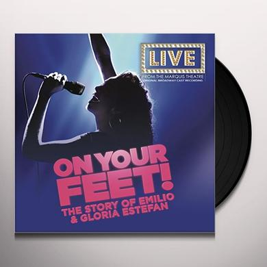 ON YOUR FEET: THE STORY OF EMILIO & GLORIA ON YOU FEET: THE STORY OF EMILIO & GLORIA / O.B.C. Vinyl Record