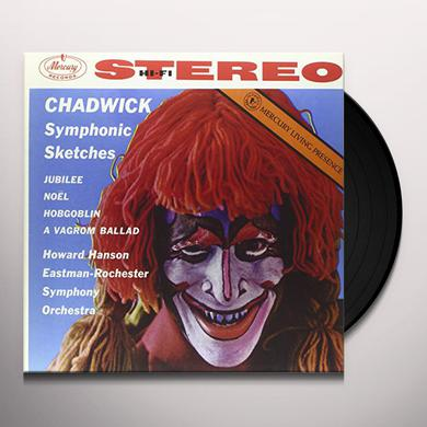 CHADWICK / HANSON / EASTMAN-ROCHESTER ORCHESTRA SYMPHONIC SKETCHES Vinyl Record