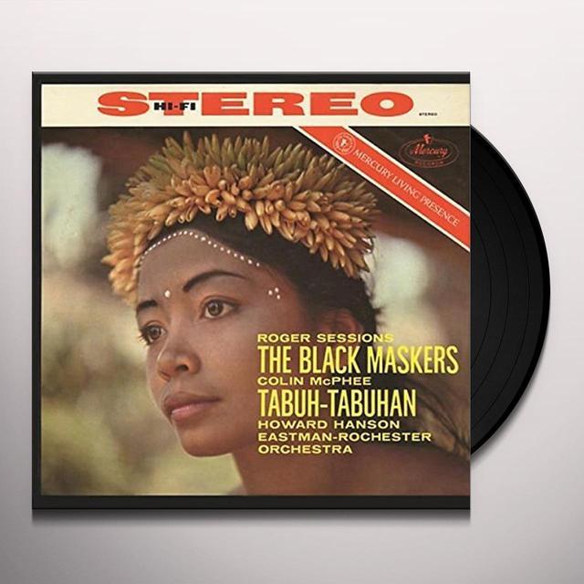 Howard Hanson / Eastman-Rochester Orchestra SESSIONS: THE BLACK MASKERS / MCPHEE: TABUH-TABUHA Vinyl Record