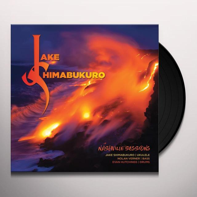 Jake Shimabukuro NASHVILLE SESSIONS Vinyl Record - 180 Gram Pressing