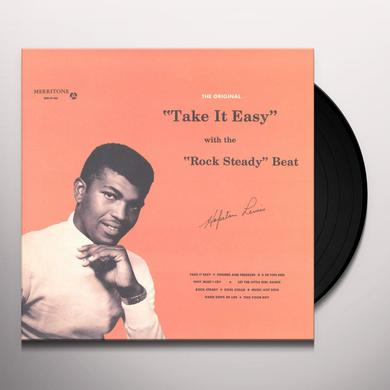 Hopeton Lewis TAKE IT EASY WITH THE ROCK STEADY BEAT Vinyl Record
