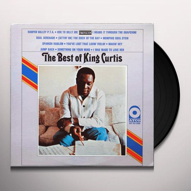 BEST OF KING CURTIS Vinyl Record - Limited Edition, 180 Gram Pressing, Anniversary Edition