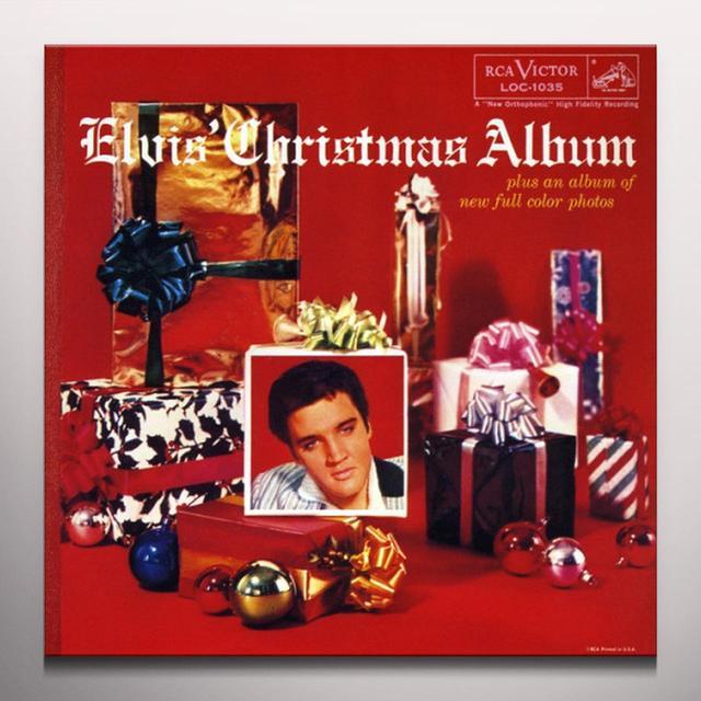 ELVIS CHRISTMAS ALBUM Vinyl Record - Blue Vinyl, Colored Vinyl, Gatefold Sleeve, Limited Edition
