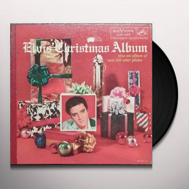 ELVIS CHRISTMAS ALBUM Vinyl Record - Gatefold Sleeve, Limited Edition, 180 Gram Pressing
