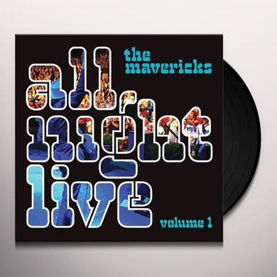 Mavericks ALL NIGHT LIVE 1 Vinyl Record - Gatefold Sleeve