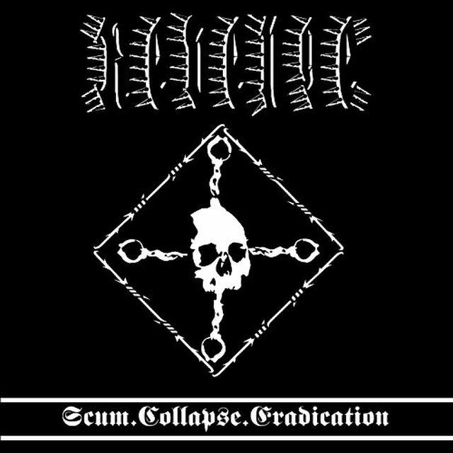 Revenge SCUM COLLAPSE ERADICATION Vinyl Record