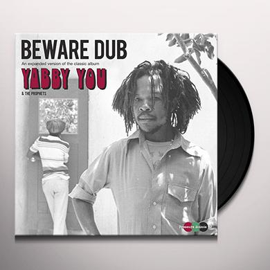 Yabby You BEWARE DUB Vinyl Record