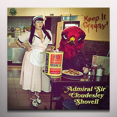 The Admiral Sir Cloudesley Shovell KEEP IT GREASY Vinyl Record - Colored Vinyl, Purple Vinyl