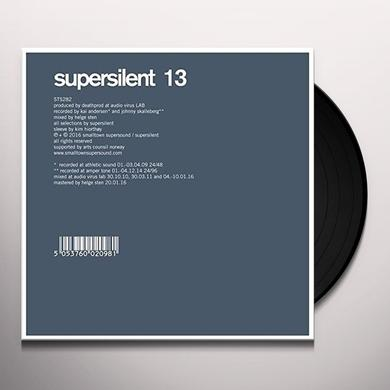 Supersilent 13 Vinyl Record