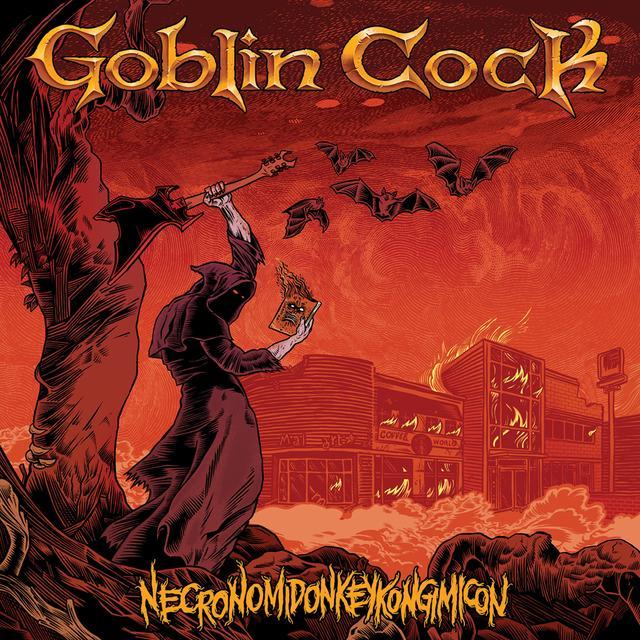 Goblin Cock NECRONOMIDONKEYKONGIMICON Vinyl Record - Purple Vinyl, Digital Download Included