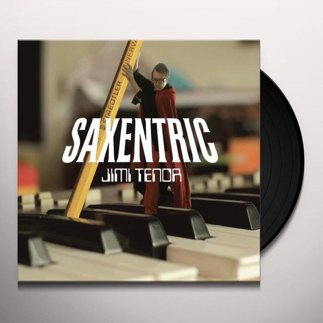 Jimi Tenor SAXENTRIC Vinyl Record