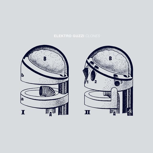 Elektro Guzzi CLONES Vinyl Record