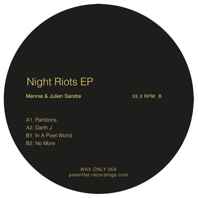 Mennie Sandre & Julien NIGHT RIOTS Vinyl Record