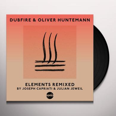 Dubfire Huntemann & Oliver ELEMENTS REMIXED Vinyl Record