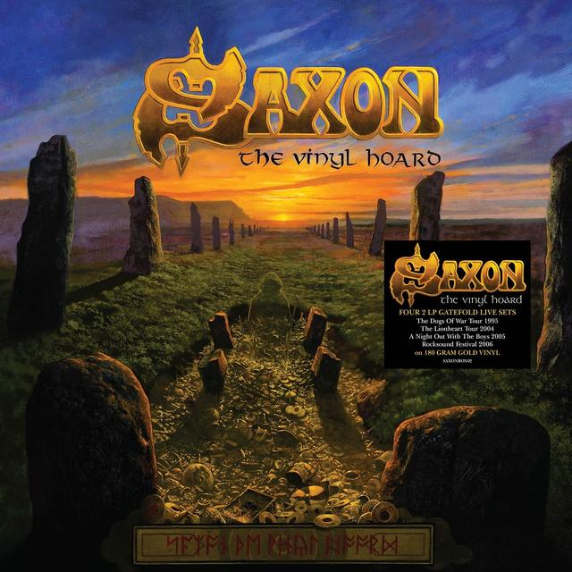 Saxon VINYL HOARD (BOX) Vinyl Record - UK Import