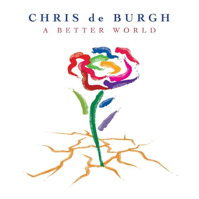 Chris De Burgh BETTER WORLD Vinyl Record - Holland Import