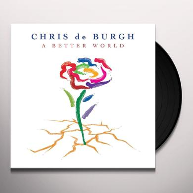 Chris De Burgh BETTER WORLD Vinyl Record - Holland Import