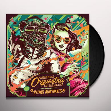 CAMARONES ORQUESTRA GUITARRISTICA RYTMUS ALUCYNANTIS Vinyl Record