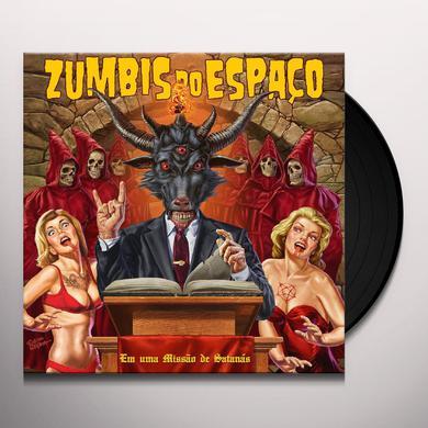 ZUMBIS DO ESPACO EM UMA MISSAO DE SATANAS Vinyl Record