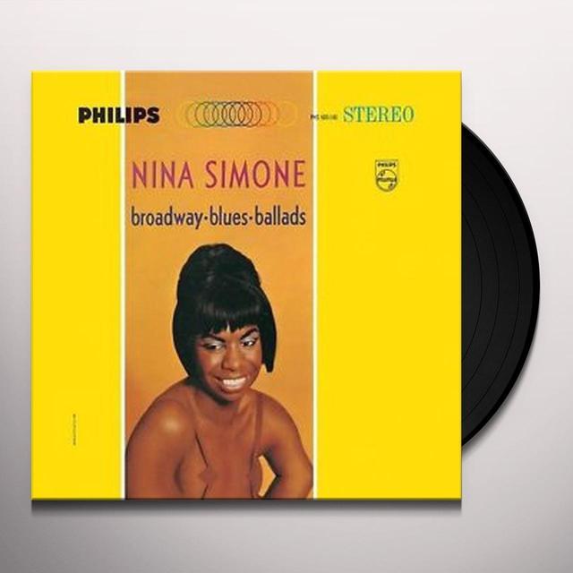 Nina Simone BROADWAY BLUES BALLADS Vinyl Record