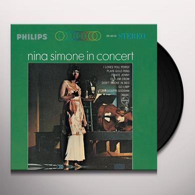 Nina Simone IN CONCERT Vinyl Record