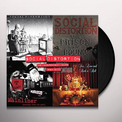 Social Distortion INDEPENDENT YEARS: 1983-2004 (BOX) Vinyl Record