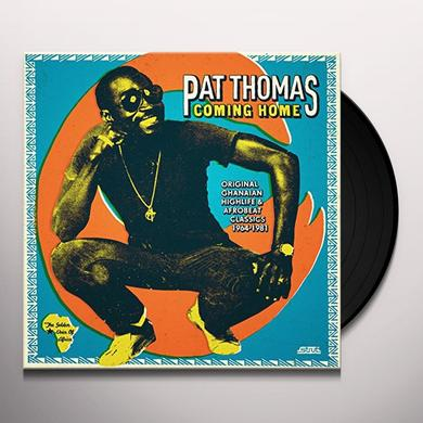 Pat Thomas COMING HOME Vinyl Record
