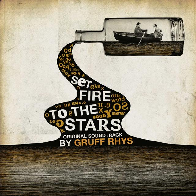 Gruff Rhys SET FIRE TO THE STARS - O.S.T. Vinyl Record