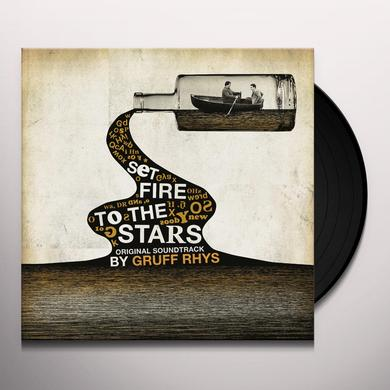 Gruff Rhys SET FIRE TO THE STARS - O.S.T. Vinyl Record