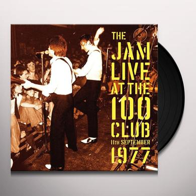 The Jam LIVE AT THE 100 CLUB: 11 SEPTEMBER 1977 (HK) Vinyl Record