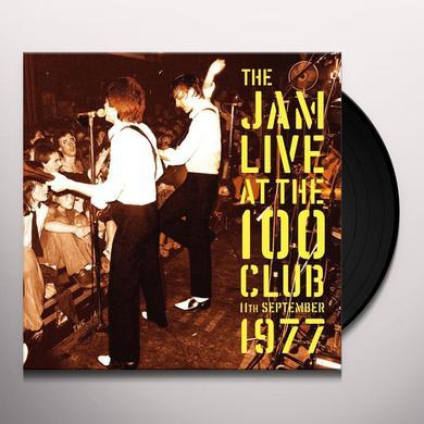 The Jam LIVE AT THE 100 CLUB: 11 SEPTEMBER 1977 (HK) Vinyl Record