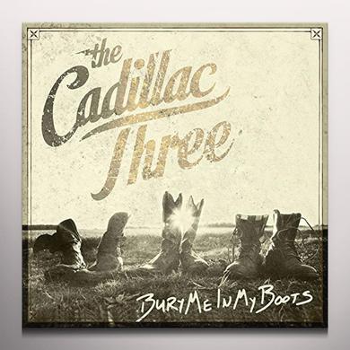 Cadillac Three BURY ME IN MY BOOTS Vinyl Record - Colored Vinyl, Red Vinyl, UK Import