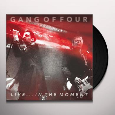 Gang Of Four LIVE IN THE MOMENT Vinyl Record